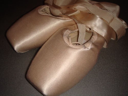 handmade russian pointe shoes